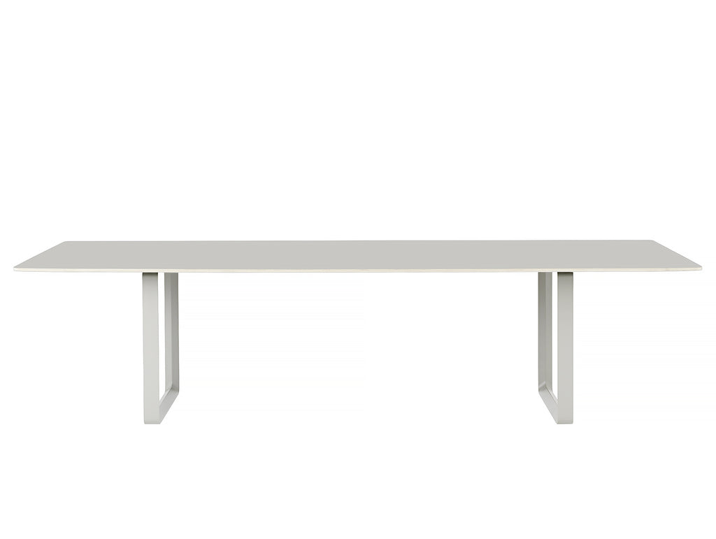 70/70 Table by Muuto - 295 x 108 - Grey / Grey