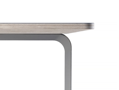70/70 Table by Muuto - Grey Edging Detail