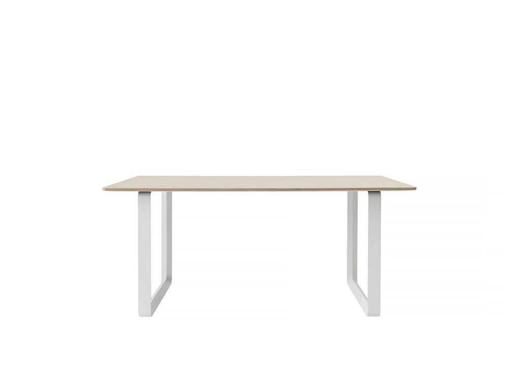 70/70 Table by Muuto - 170 x 85 - Oak / White