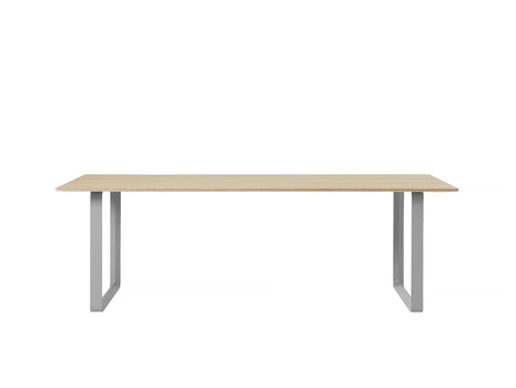 70/70 Table by Muuto - 225 x 90 - Oak / Grey