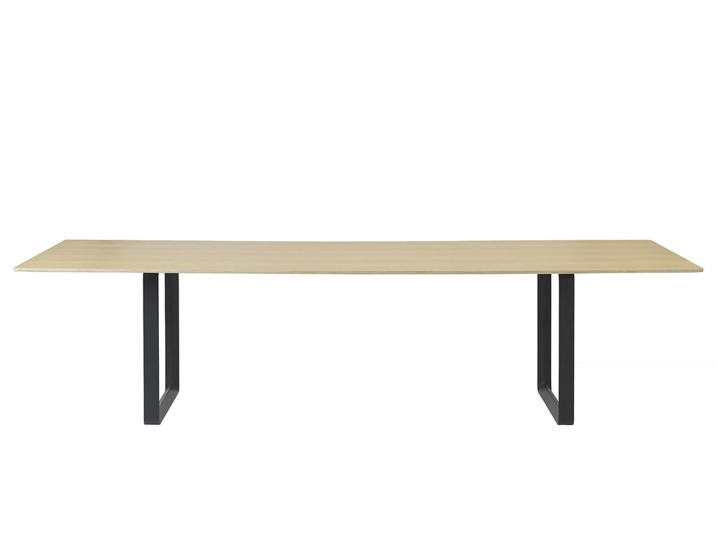 70/70 Table by Muuto - 295 x 108 - Oak / White