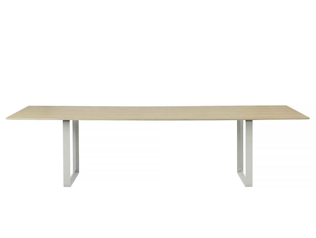 70/70 Table by Muuto - 295 x 108 - Oak / Grey