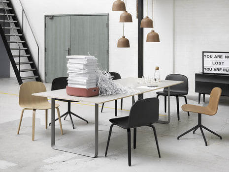 70/70 Table by Muuto - Grey / Grey