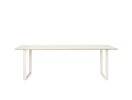 70/70 Table by Muuto - 225 x 90 - White / White