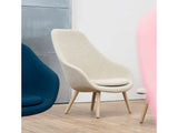 HAY AAL 92 Chair - Hallingdal 65 220 - Matt Lacquered Oak