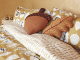Acorn Bed Linen by Donna Wilson