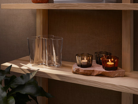 Alvar Aalto Tealight Candle Holder by Iittala