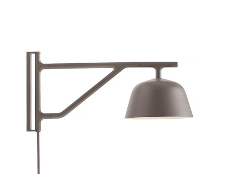 Taupe Ambit Wall Lamp by Muuto