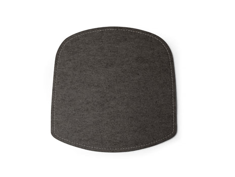 Anthracite Felt Wick Chair Seat Cushion by Design House Stockholm