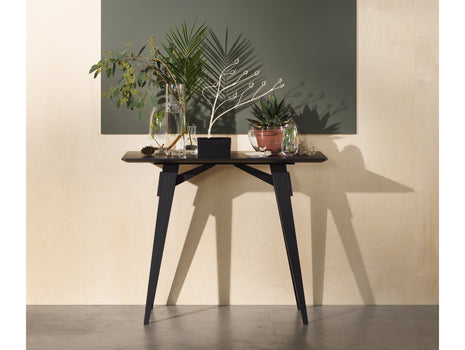 Arco Black Stained Oak Side Table by Design House Stockholm