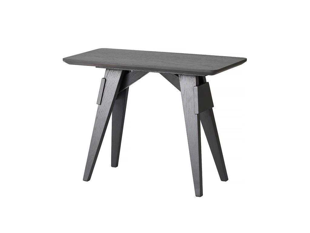 Arco Black Stained Oak Small Table by Design House Stockholm