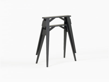 Black Stained Oak Arco Trestles - Set of 2 by Design House Stockholm