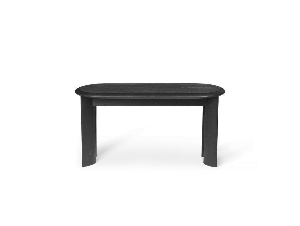 Black Oiled Oak Bevel Bench by Ferm Living