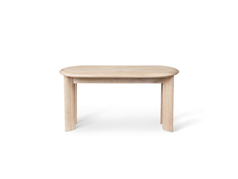 White Oiled Oak Bevel Bench by Ferm Living