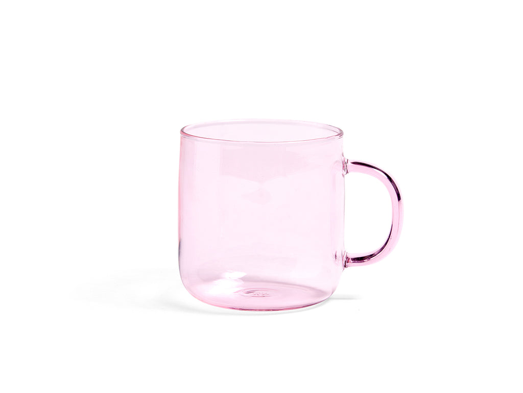Borosilicate Mugs and Cups by HAY - Pink Mug