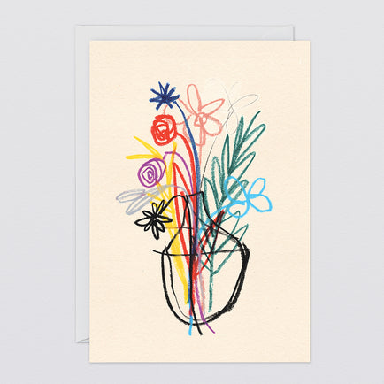 'Bouquet' Art Card by Wrap