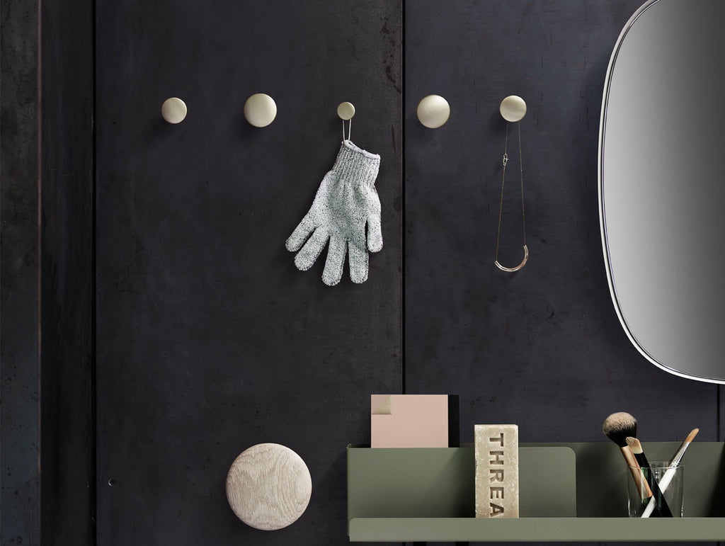 The Dots Metal Hooks by Muuto