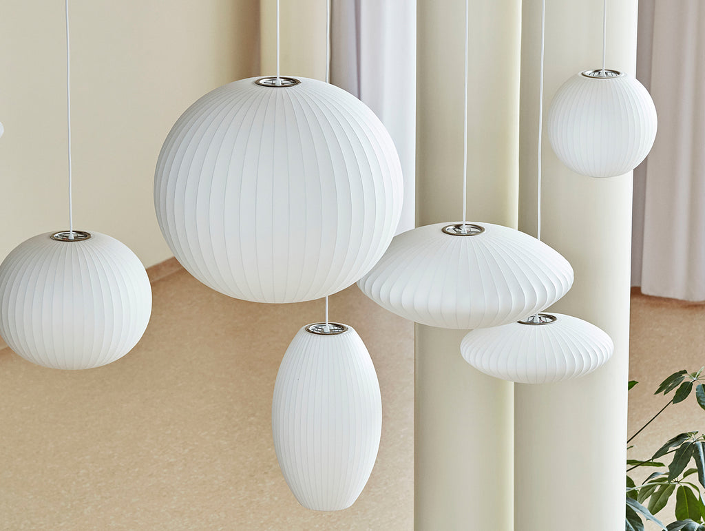 the latest 28fbe 2e0ec George Nelson Bubble Pendant Lamp by HAY