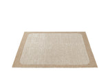 Small Burnt Orange Pebble Rug by Muuto