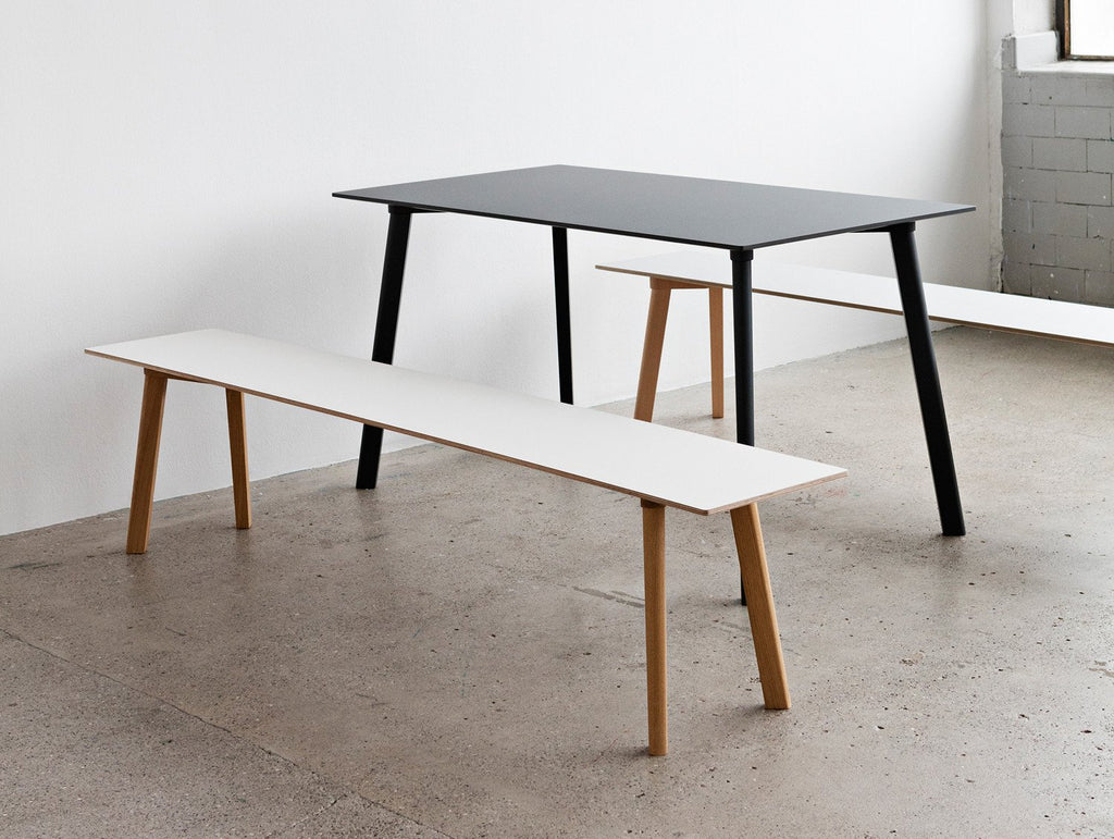 copenhague deux bench cph215 by hay really well made. Black Bedroom Furniture Sets. Home Design Ideas