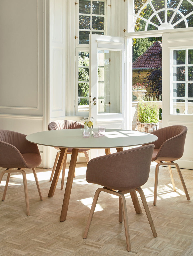 Copenhague Round Dining Table CPH25 by HAY