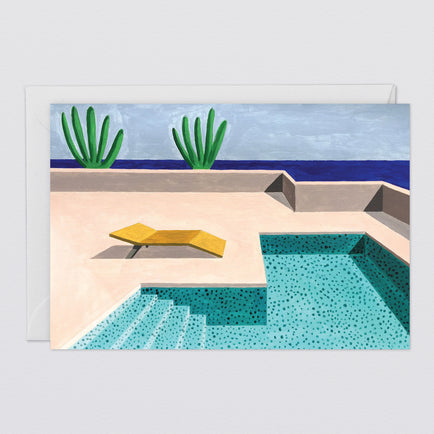 'Pool 1' Art Card by Wrap
