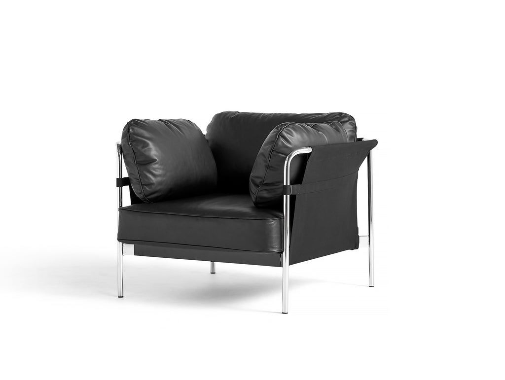HAY Can Sofa 2.0 - Black Silk Leather