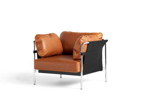 HAY Can Sofa 2.0 - Cognac Silk Leather