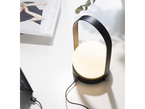 Black Carrie Lamp by Menu