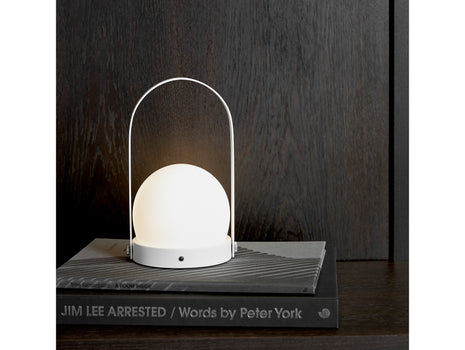White Carrie Lamp by Menu