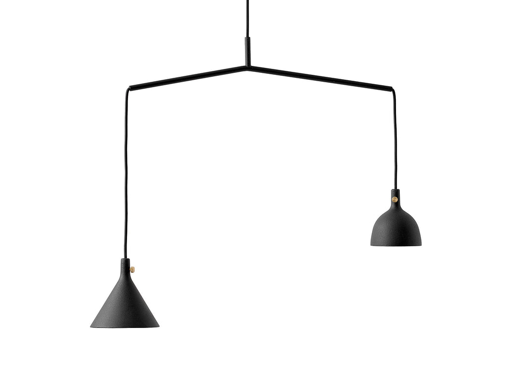 Cast pendant light by menu really well made cast pendant aloadofball Image collections