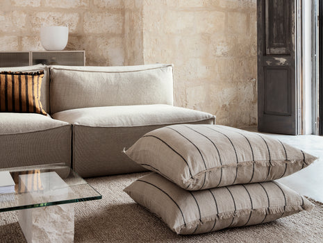 Catena 2-Seater Modular Sofa in Rich Linen by Ferm Living