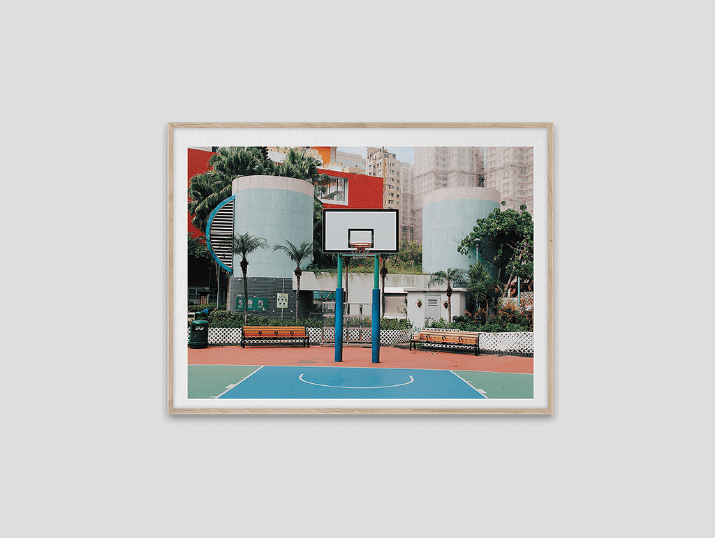 Cities of Basketball 04 (Hong Kong) by Paper Collective