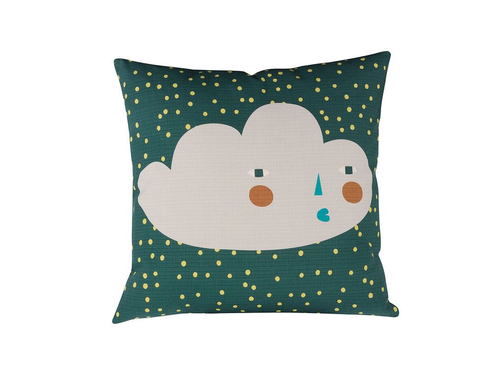 Cloudy Face Cushion by Donna Wilson