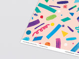 Confetti Wrapping Paper by Wrap