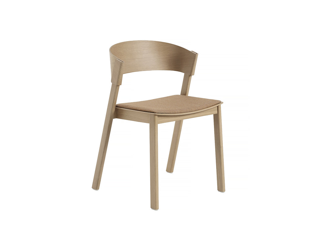 Natural Oak and Remix 252 Cover Side Chair by Muuto