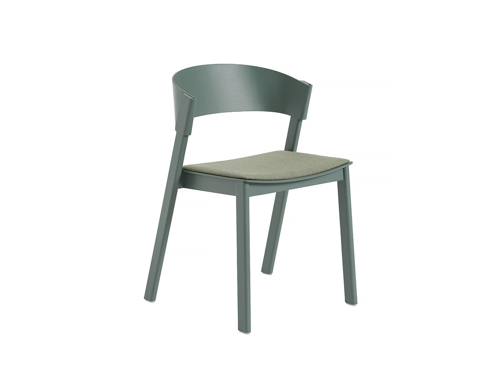 Green Oak and Remix 933 Cover Side Chair by Muuto