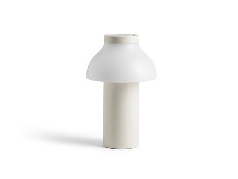 Cream White PC Portable Lamp by HAY