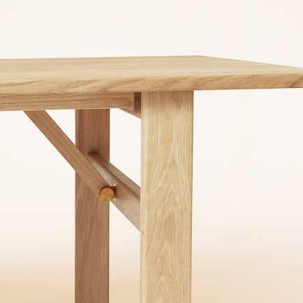 Damsbo Dining Table - White Oak - Form & Refine