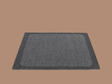 Small Dark Grey Pebble Rug by Muuto