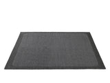Large Dark Grey Pebble Rug by Muuto