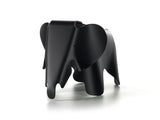 Deep Black Eames Elephant by Vitra