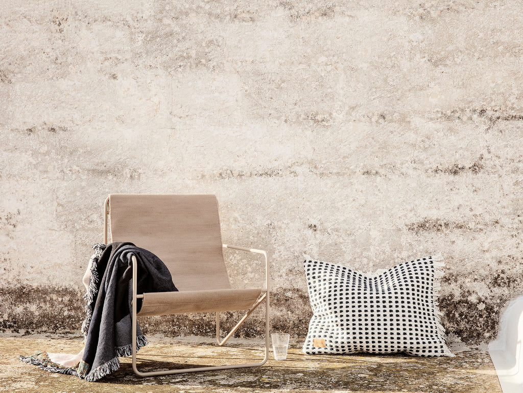 Desert Chair Solid with Cashmere Frame by Ferm Living