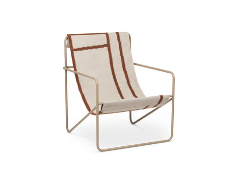 Desert Chair Shape with Cashmere Frame by Ferm Living