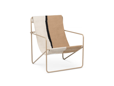 Desert Chair Soil with Cashmere Frame by Ferm Living