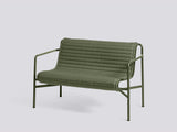 Palissade Quilted Cushions by HAY - Dining Bench, Olive