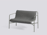 Palissade Quilted Cushions by HAY - Dining Bench, Anthracite