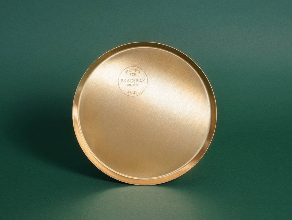 Edge Brass Plate By Skagerak 183 Really Well Made