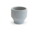 15 cm Light Grey Indoor Edge Pot by Skagerak