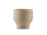 15 cm Sierra Yellow Indoor Edge Pot by Skagerak